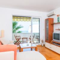 Orange apartment overlooking the sea