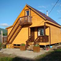 House near lake Baikal