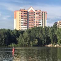 Shikarnyie apartamienty na 15 etazhie s vidom na rieku