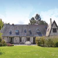 Holiday Home St-Ouen d Thouberville with Fireplace I