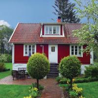 Three-Bedroom Holiday home with a Fireplace in Sölvesborg
