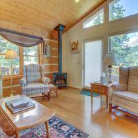 The Daniels Mountain View Log Cabin