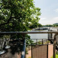 Weserwohnung - Bootshaus Urlaub am Wasser