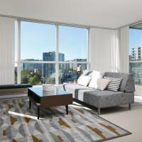 Comfortable 2 BDR 2BA Condo Near Richmond Centre
