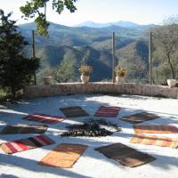 Espiritual house at the mountain
