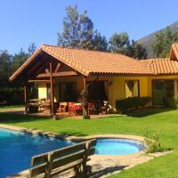 Parcela privada con piscina en Olmué