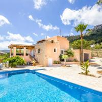 Family villa with amazing views of Es Cubells and Formentera close to the sea