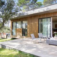luxueuse maison d architecte en bois