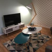 Cosy 50m² parking/terrasse/wifi proche centre
