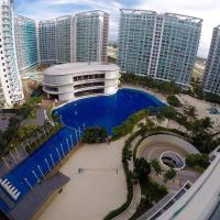 Pool & Beach View 2BR Deluxe Condo At Azure Resort