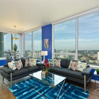 Downtown San Diego Massive Views 3br/2ba Suite