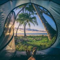 Aotea Camp'in Huahine