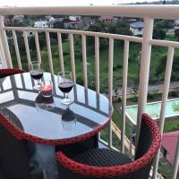 NEW Tagaytay Condo Balcony Taal Lake