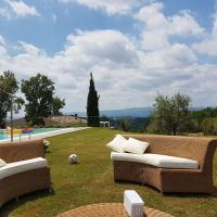 Il Belvedere house in the Tuscan countryside