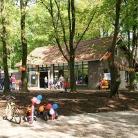Blokhut Maashees voor kamp of sportactiviteit