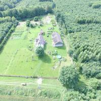 Agroturystyczny dom na skraju lasu