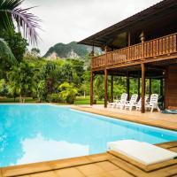 帕拉伊索別墅- 四臥室傳統泰式泳池別墅