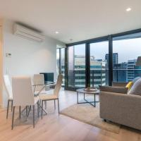 EQ Tower Luxury 1 Bedroom Central Melbourne