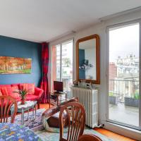 Cosy studio with balcony - Porte de Saint-Cloud