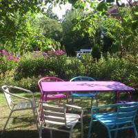 Wohnen und Garten in der Stadt