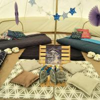 Jumbo Bell Tent By The Sea