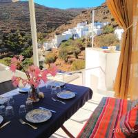 Traditional cycladic house with character