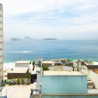 Ipanema 803 - Apart Hotel - Quadra da Praia com Piscina, Sauna, Academia e Garagem