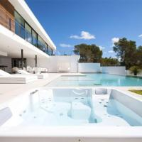 Modern Sea View Villa In Vista Alegre, Ibiza