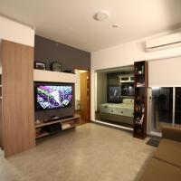New modern apartment with city view in North Jakarta