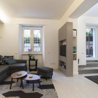 Colosseo, appartamento con giardino