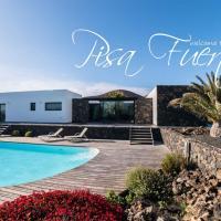 Pisa Fuerte: villa con piscina a los pies del volcán de Lajares