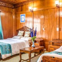 Room in a houseboat on Nigeen Lake, Srinagar, by GuestHouser 27310