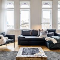 BpR Luxe de Noir et Blanc Apartment