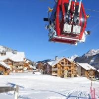 Apartment 4 pièces + box - 64m² - pour 8 pers - skis aux pieds - catégorie prestige - spa - zone de l'obélisque