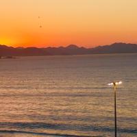 Estudio Dalia vista para o mar