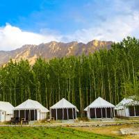 Terrain ladakh camp nubra