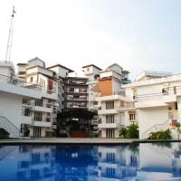 Apartment with a pool in Kochi, by GuestHouser 42798