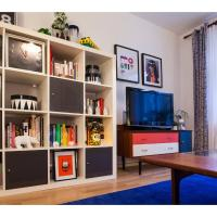 Colourful, Comfortable Flat for 4 in Finsbury Park