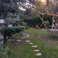 Jardin et bambous, studio cosy