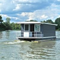 Lakóhajó, úszóház - Tisza-tó