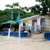 Bolo Beach Santorini- a private beach front mini resort 15 mins away to Hundred Island
