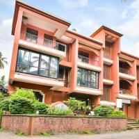 Vibrant 1-BR apartment with a shared pool, 800 m from Baga beach
