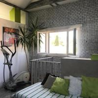 Grand loft design calme