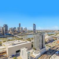 CITY VIEW Luxury 2Bed APT @ South Brisbane