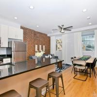 Boho-chic Three Bedroom Apartment minutes to NYC