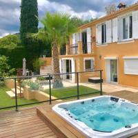 Villa Grasse Avec Spa