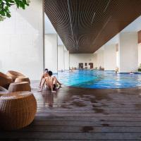 KIRAKUAN PARKVIEW 2BR Pool/Gym/Balcony