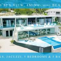 Exclusive private villa in resort, 180 °sea view