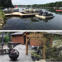 New Cabin on 75 Acre Private Lake: Couples Get Away or bring the Family