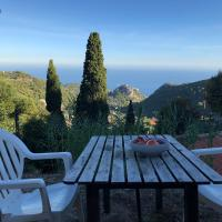 Chambre view Eze village